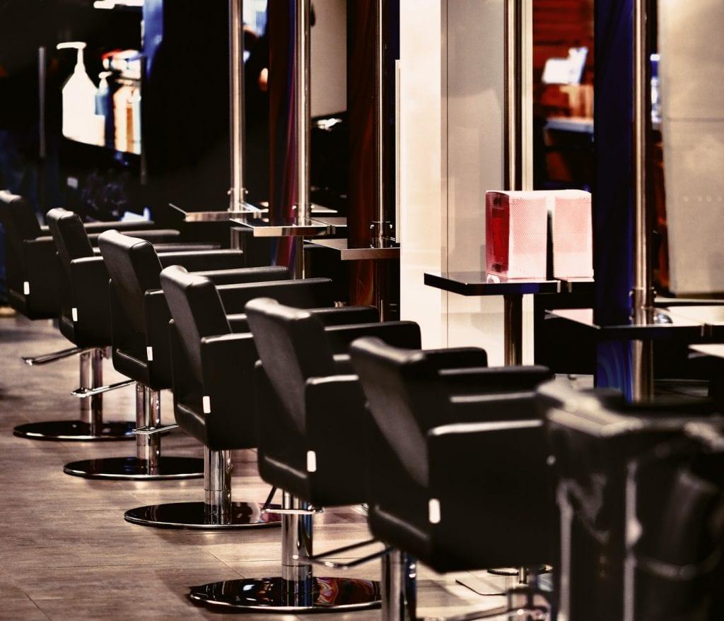 Ein Foto vom Friseursalon MK Hairlounge in Wien im Donauzentrum